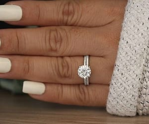 diamonds, rings, and women image