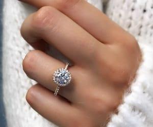 diamonds, jewellery, and proposal image