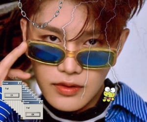 edit, kpop, and cybergoth image