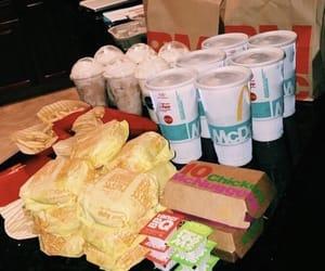 food and mcdonald's image