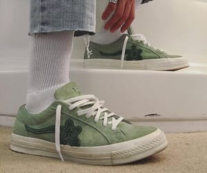 green, shoes, and style image