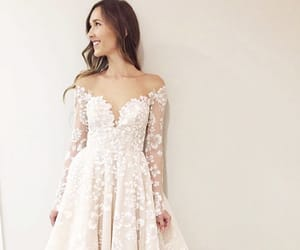 designer, wedding, and wedding dress image