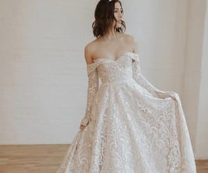 lace, married, and wedding image