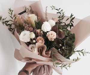 bouquet, flowers, and Nude image