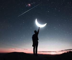 Dream, human, and sky image