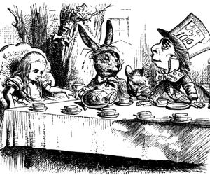 alice, alice in wonderland, and fairytale image