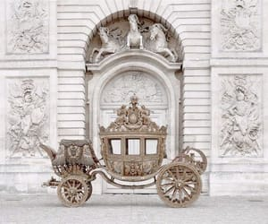 carriage, disney, and Cinderella image