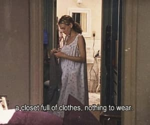 clothes, sex and the city, and quotes image