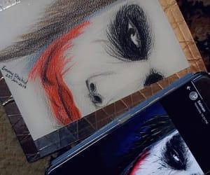 art, drawing, and batman image