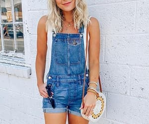 denim shorts, summer outfits, and jumper image
