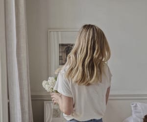 bedroom, blond, and blonde image