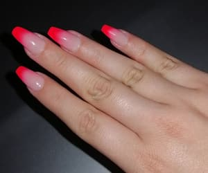 aesthetic, nails, and neon image