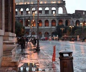 rain and rome image