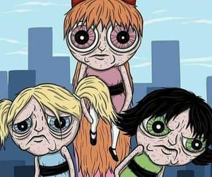 cartoon, powerpuff girls, and power puff girls image