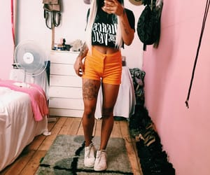 casual, pierce the veil, and shorts image
