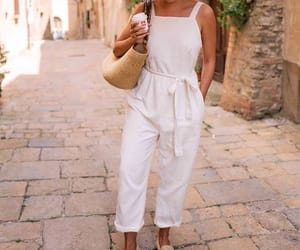 fashion, jumpsuit, and summer image