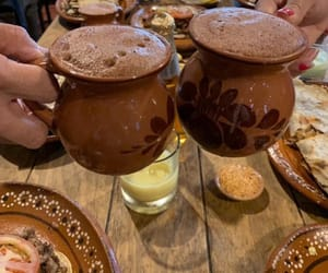 chocolate, drink, and mexican image