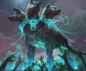 cerberus, fantasy, and game image