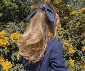 fashion, hair, and nature image