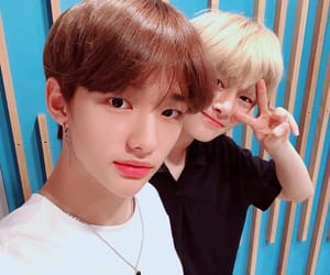 felix, korean, and jisung image