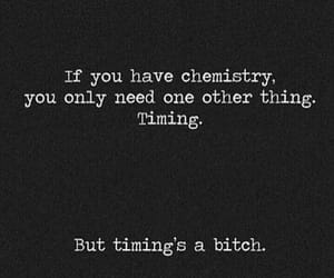 timing, love, and chemistry image