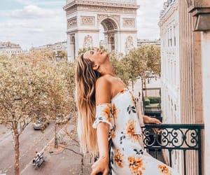 dress, fashion, and france image