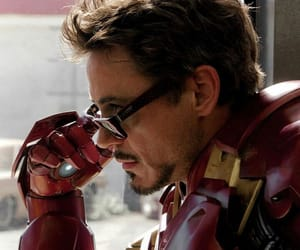 Marvel, robert downey jr, and tony stark image
