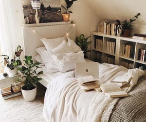 bedroom, home, and cozy image