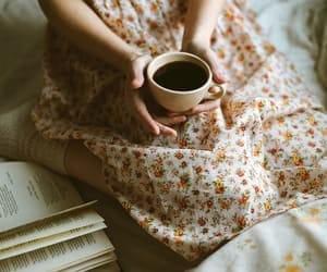 coffee, feed, and girl image
