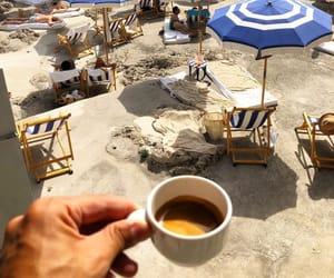 beach, coffee, and espresso image