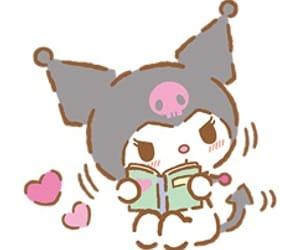 kawaii, kuromi, and sanrio image
