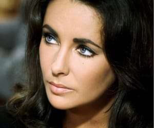 Elizabeth Taylor, actress, and eyes image