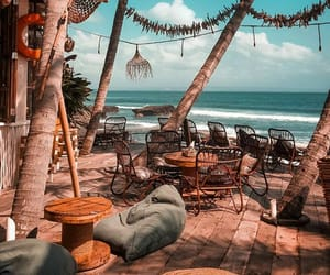 beach, food, and inspire image