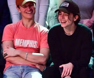 ansel elgort and timothee chalamet image