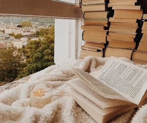 books and cozy image