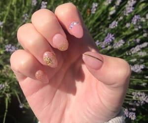 diamonds, nails, and flakes image