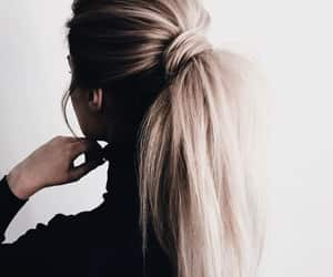 article, long hair, and thread image