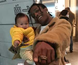 asap rocky and baby image