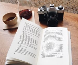 books, coffee, and inspiration image