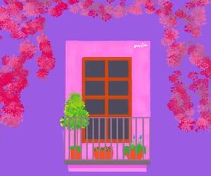 aesthetic, casa, and morado image