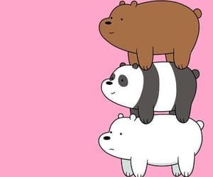 bear, wallpaper, and we bare bears image