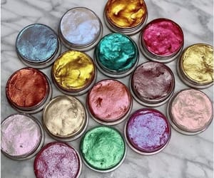 colors, eyeshadow, and fashion image