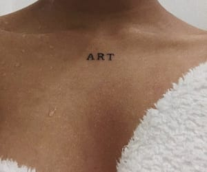 tattoo, art, and aesthetic image