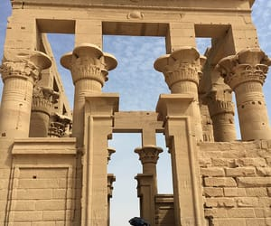 philae temple egypt, cleopatra temple egypt, and aswan temples image