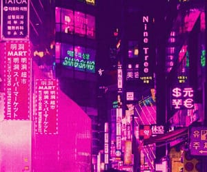 lights, neon, and photography image