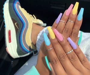 color, fashion, and girls image
