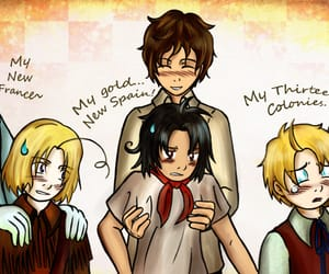 hetalia, aph canada, and aph mexico image