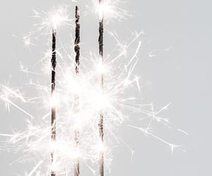 white, light, and sparkle image