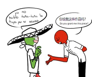 yaoi, countryhumans mexico, and country humans image