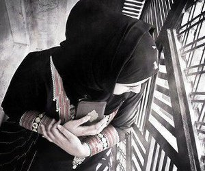 girl, Ramadan, and hijab image